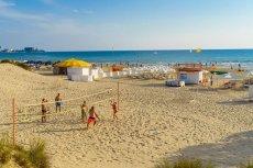 Пляж санатория «Мечта» в Анапе