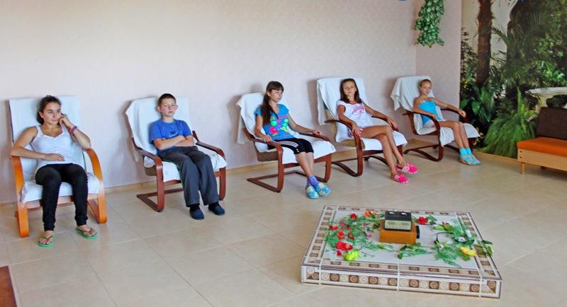 Ароматерапия в детском санатории