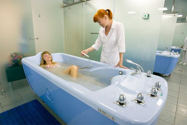 Лечебные ванны с минеральной водой