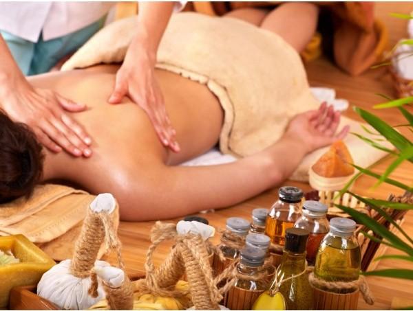 Ароматерапия во время массажа
