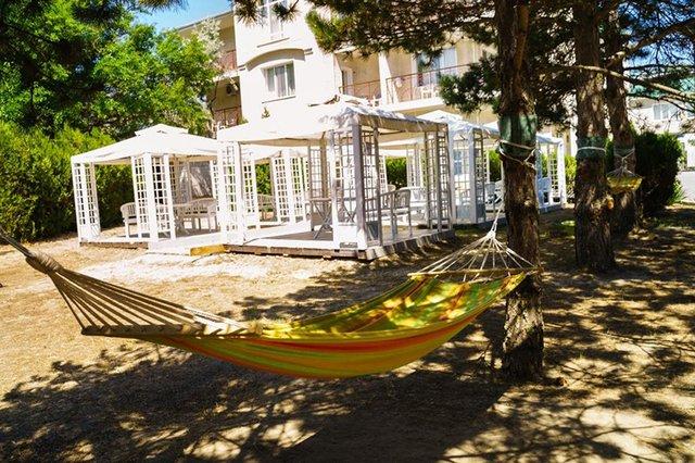Детская площадка санатория «Мечта» в Анапе